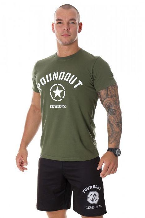 Poundout koszulka Khaki