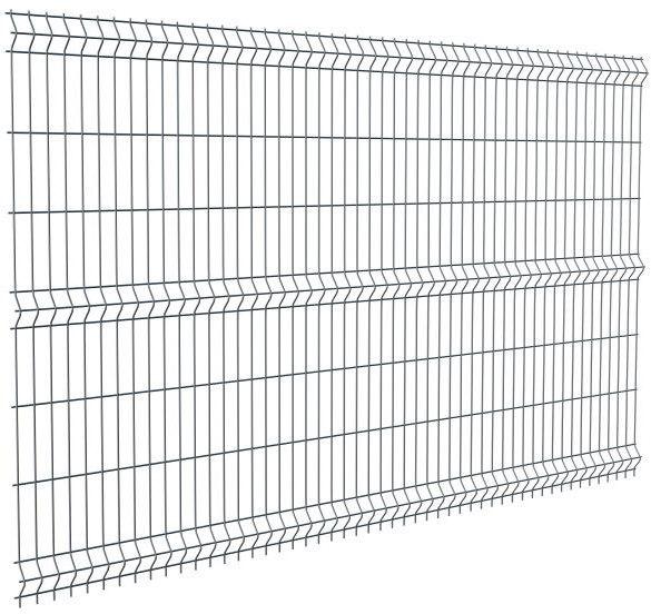 Panel ogrodzeniowy Polargos 153 x 250 cm oczko 5 x 20 cm antracyt