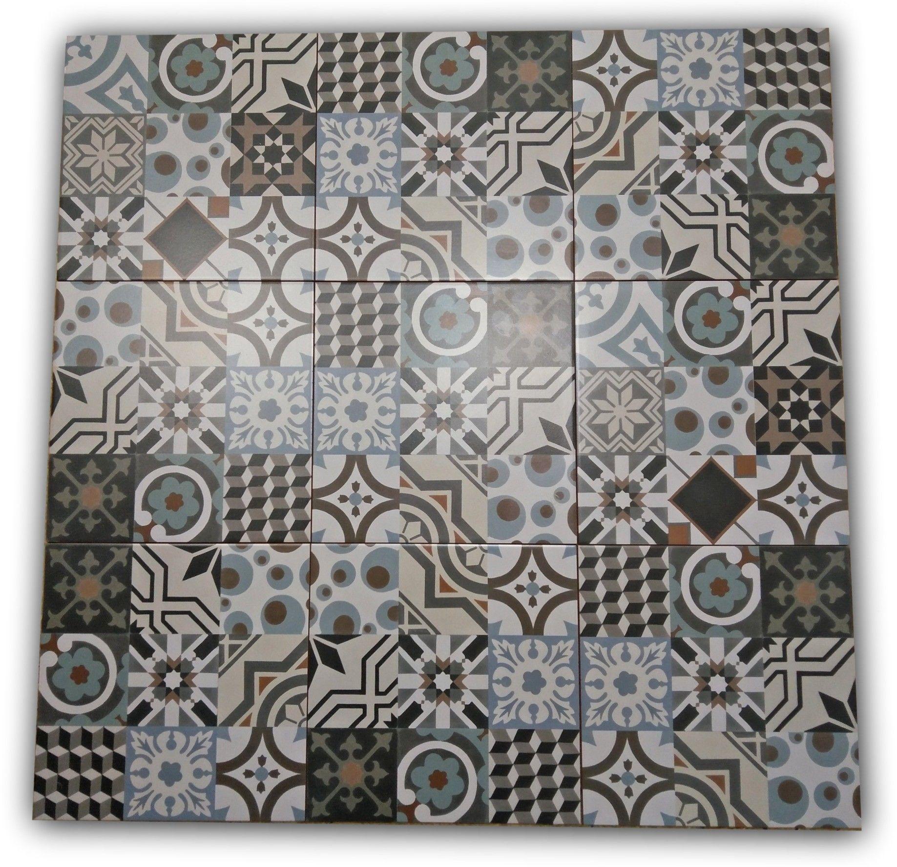 Barcelona 33,2x33,2 płytki patchwork