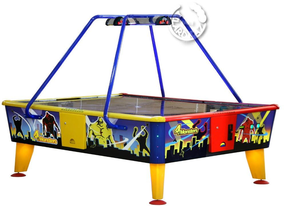 Air Hockey - 4 Monsters