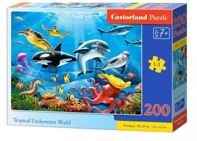 Puzzle 200 Tropical Underwater World CASTOR - Castorland