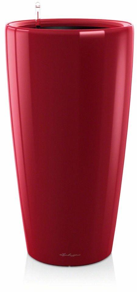 Donica lechuza rondo - scarlet red - 32 x 56 cm, połysk - czerwony