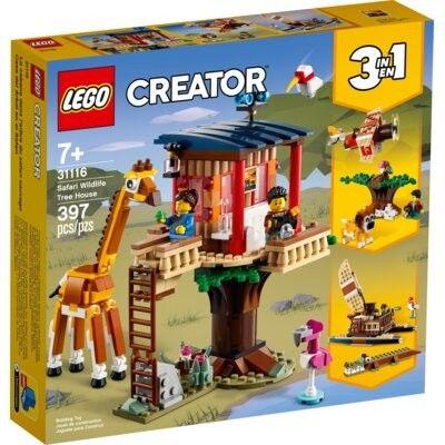 LEGO Creator - Domek na drzewie na safari 31116