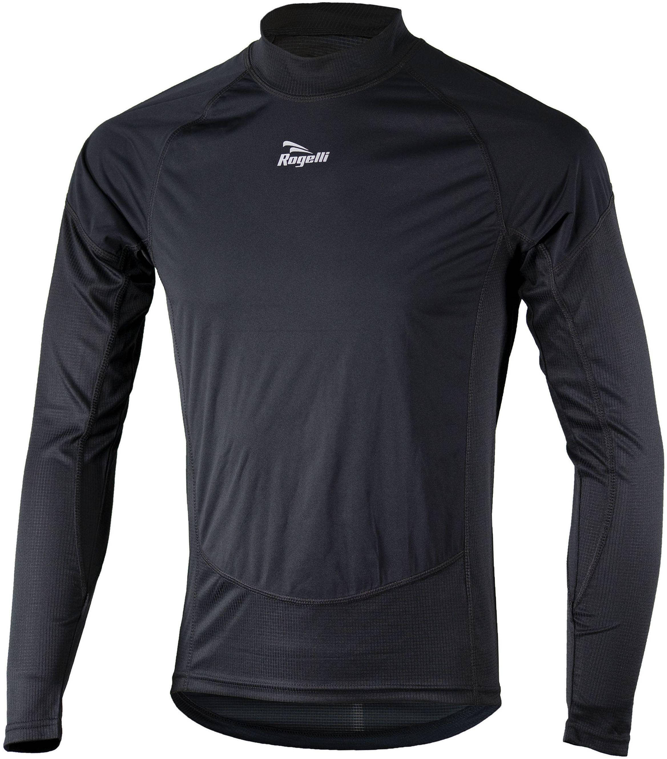ROGELLI bielizna męska koszulka z panelami NO-WIND 070.025 Rozmiar: L,rog-no-wind-black
