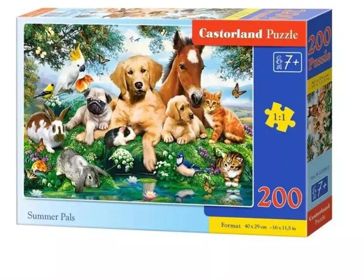 Puzzle 200 Summer Pals CASTOR - Castorland