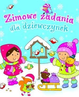 Zimowe zadania dla dziewczynek - Krzysztof Wiśniewski, Anna Wiśniewska