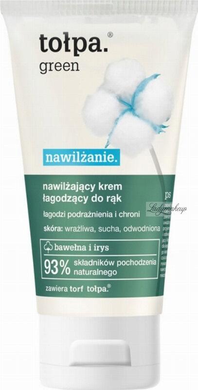 Tołpa - Green - Nawilżający krem łagodzący do rąk - 75 ml