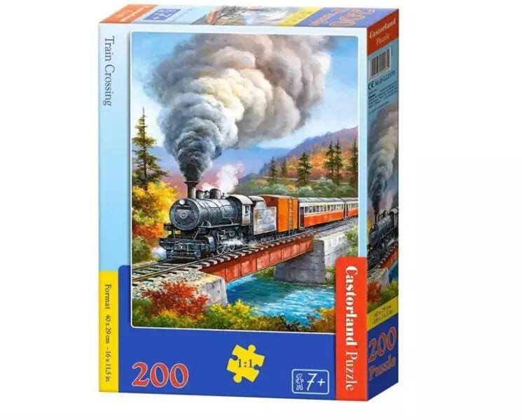 Puzzle 200 Train Crossing CASTOR - Castorland
