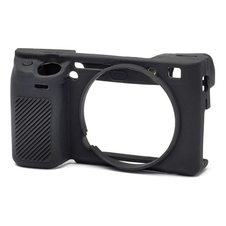 Osłona silikonowa easyCover do aparatu Sony A6300/ A6000 czarna - WYSYŁKA W 24H