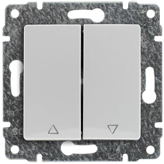 VENA Przycisk żaluzjowy biały 510418
