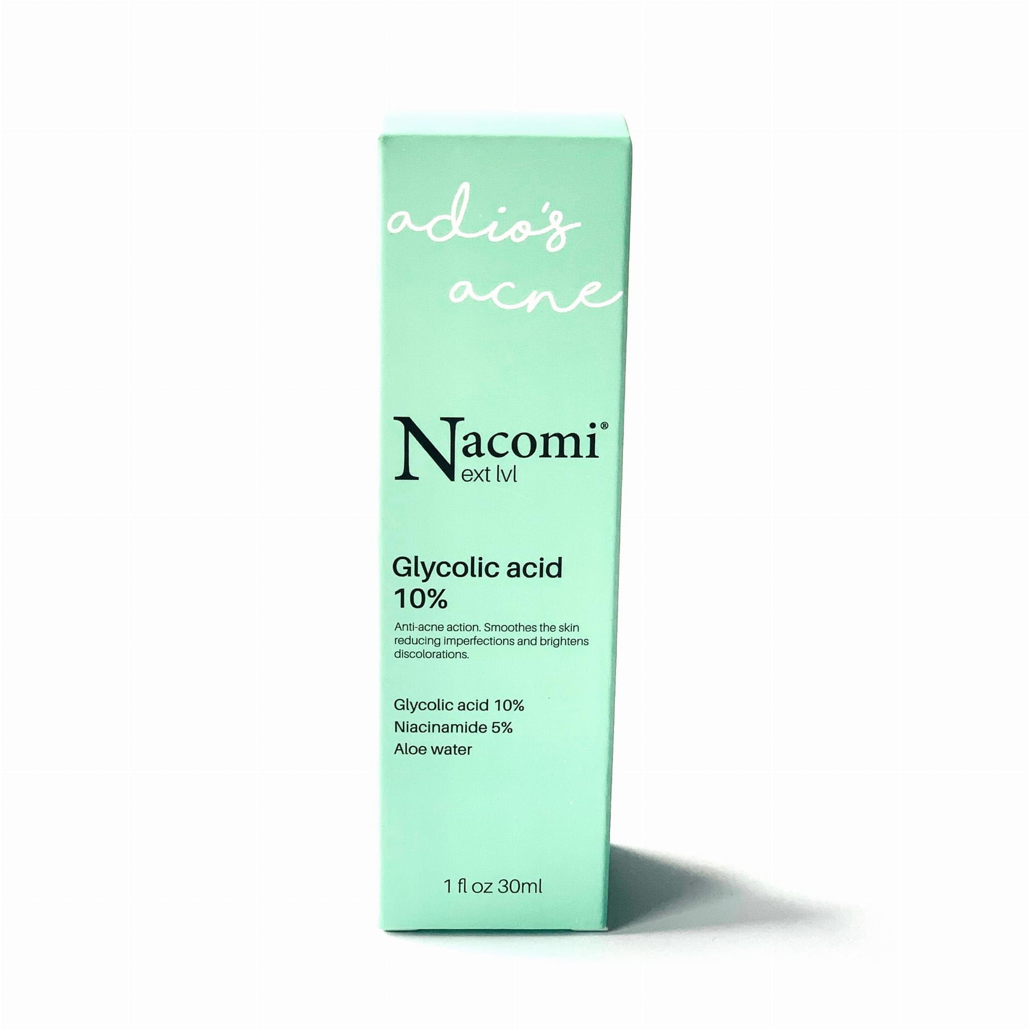 Nacomi Next Level Serum Kwas Glikolowy 10% 30 ml