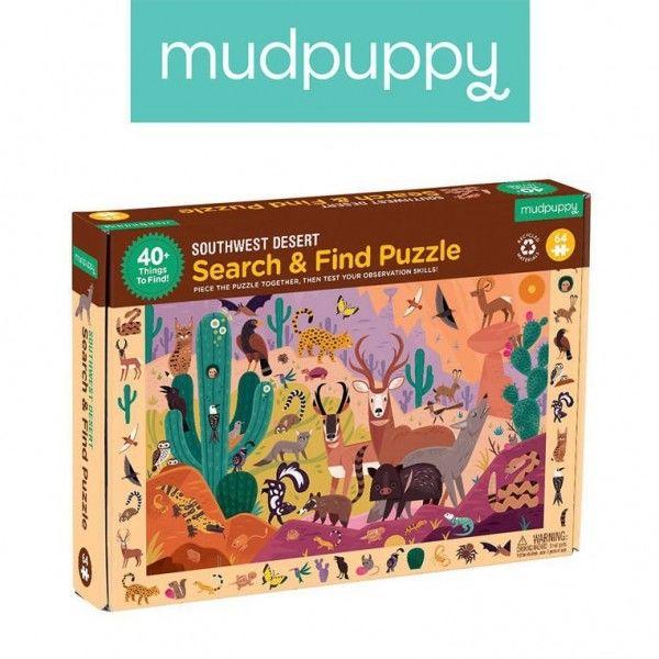 Mudpuppy Puzzle Obserwacyjne Amerykańska Pustynia 64 Elementy 4+