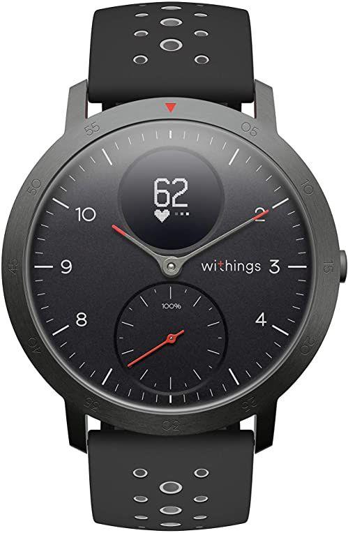 Withings Steel HR Sport Smartwatch, Czarny