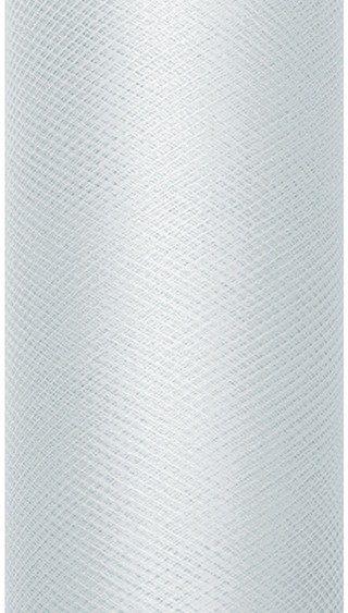 Tiul dekoracyjny szary 30cm x 9m 1 rolka TIU30-091