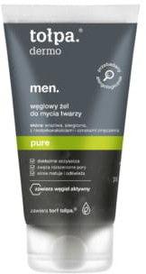 Tołpa Dermo Men Pure Węglowy żel do mycia twarzy 150ml