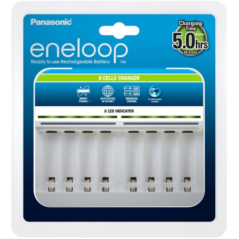 Panasonic Eneloop BQ-CC63 - ładowarka na 8 akumulatorków AA / AAA