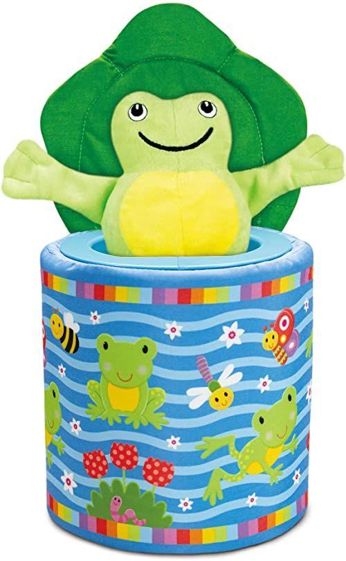 Galt Zabawki, żaba w pudełku, zabawka Jack In The Box, wiek 9 miesięcy plus