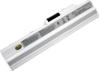 Bateria do MSI Wind U91 L2100 L2300 U210 11,1V 4400 mAh Green Cell MS06