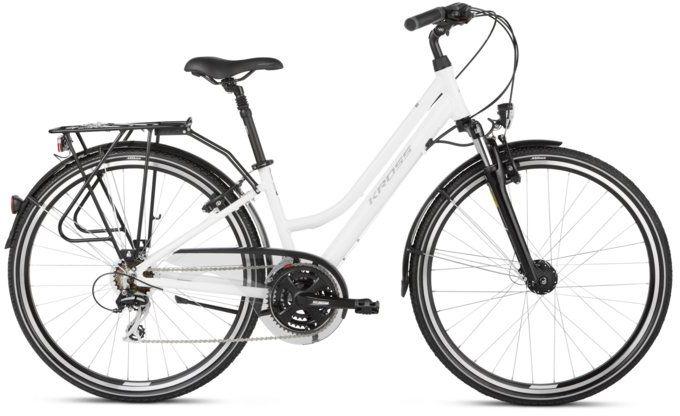 """Rower Kross TRANS 3.0 D biały 28"""" 2021"""