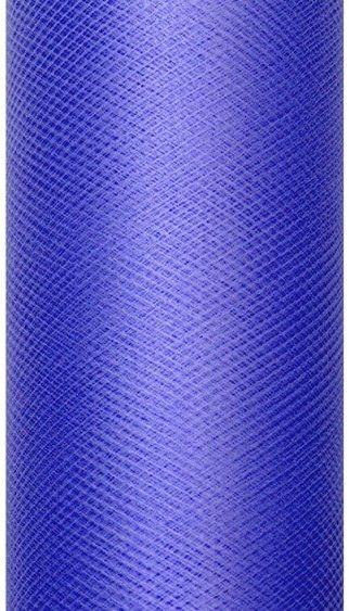 Tiul dekoracyjny granatowy 50cm x 9m 1 rolka TIU50-074
