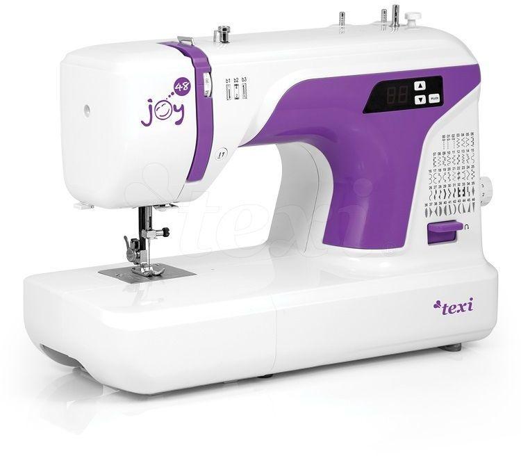 Maszyna do szycia Texi Joy 48 - 48 ściegów + RABAT dla zalogowanych