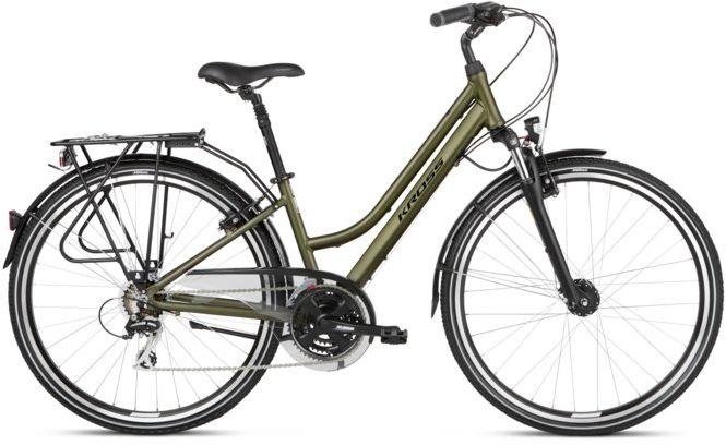 """Rower Kross TRANS 3.0 D khaki 28"""" 2021"""