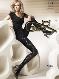 Natia -Rajstopy wzorzyste 60 den 03