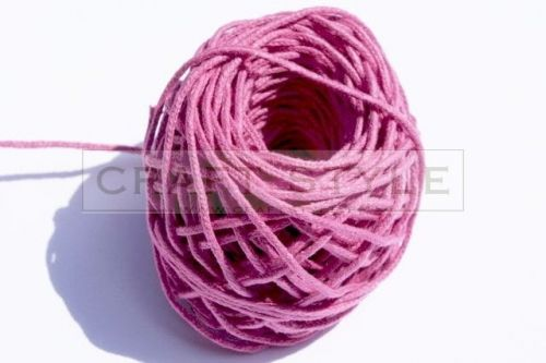 Sznurek bawełniany Bobinka różowy-33