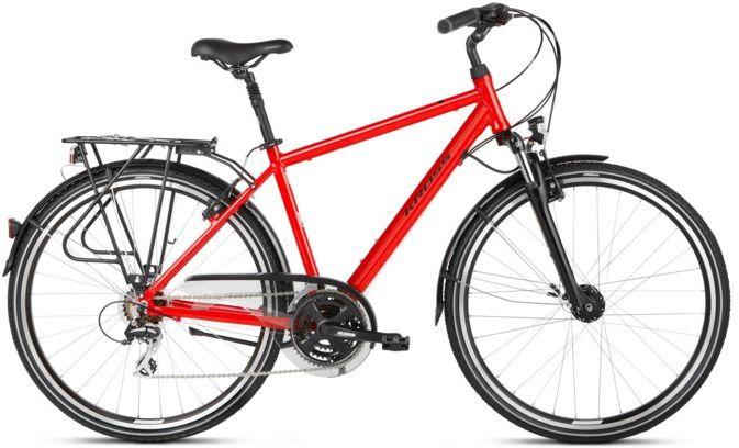 """Rower Kross TRANS 3.0 czerwony 28"""" 2021"""