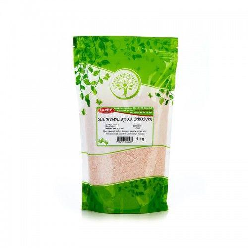 Sól himalajska różowa drobnoziarnista 1 kg