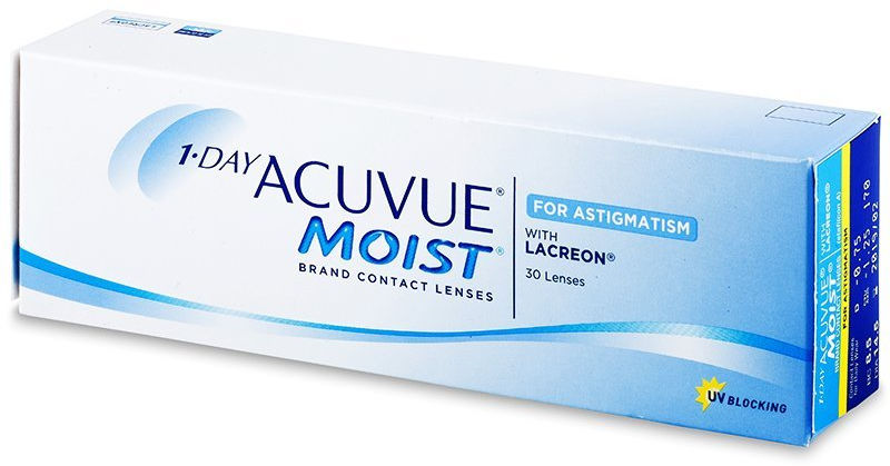 1 Day Acuvue Moist for Astigmatism 30 szt