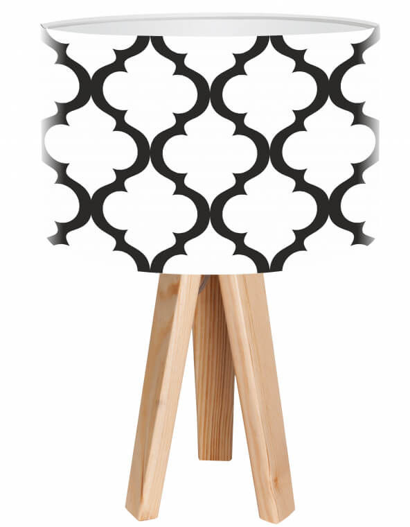 Lampa stołowa mini-trójnóg Finezja