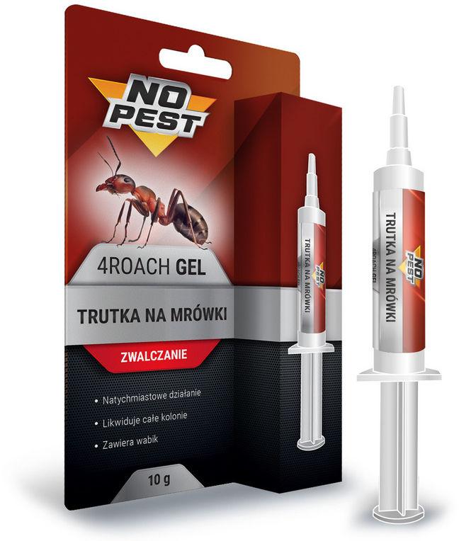 Trutka na mrówki NO PEST. Żel przeciw mrówkom z wabikiem 10g.