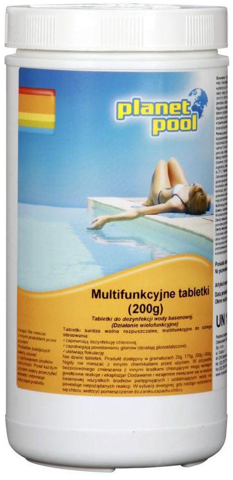 Tabletki do basenu 1 kg / 200 g x 5 szt. PLANET POOL CHEMOCHLOR