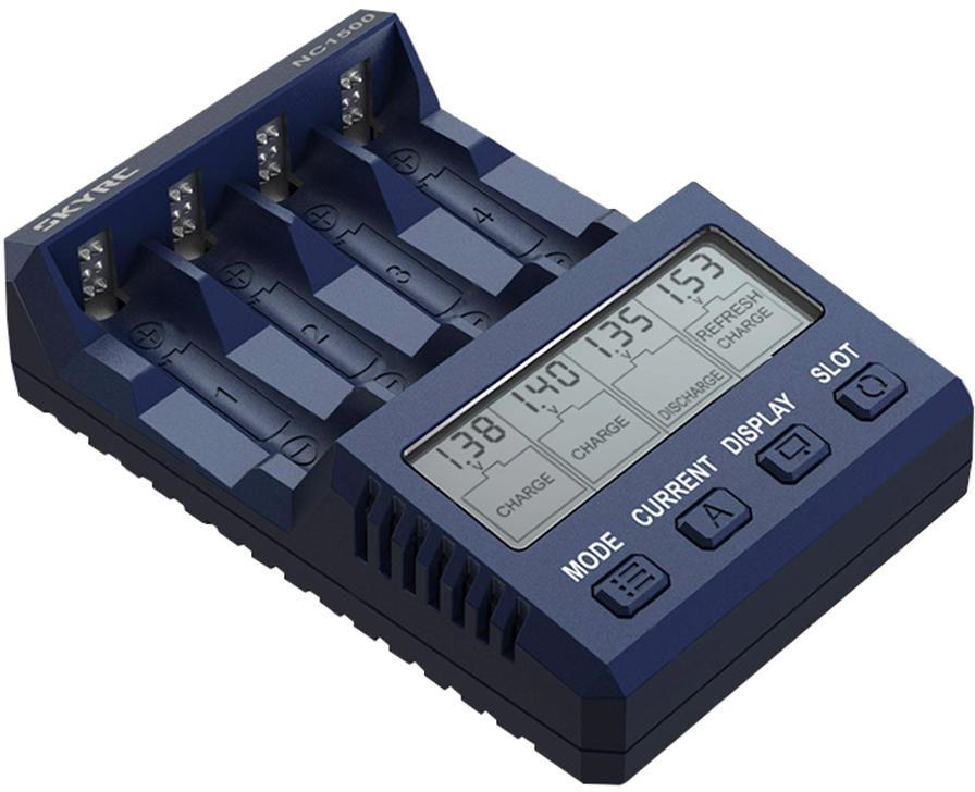SkyRC NC1500 Ładowarka / Analizator ogniw AA AAA 1,5A