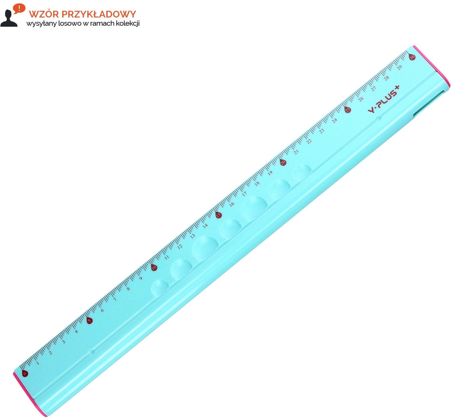 Linijka 30cm wielofunkcyjna Y-PLUS