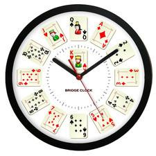 Zegar ścienny Sport czas na Brydż #2