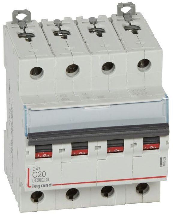 Wyłącznik nadprądowy 4P C 20A 6kA S304 DX3 407929