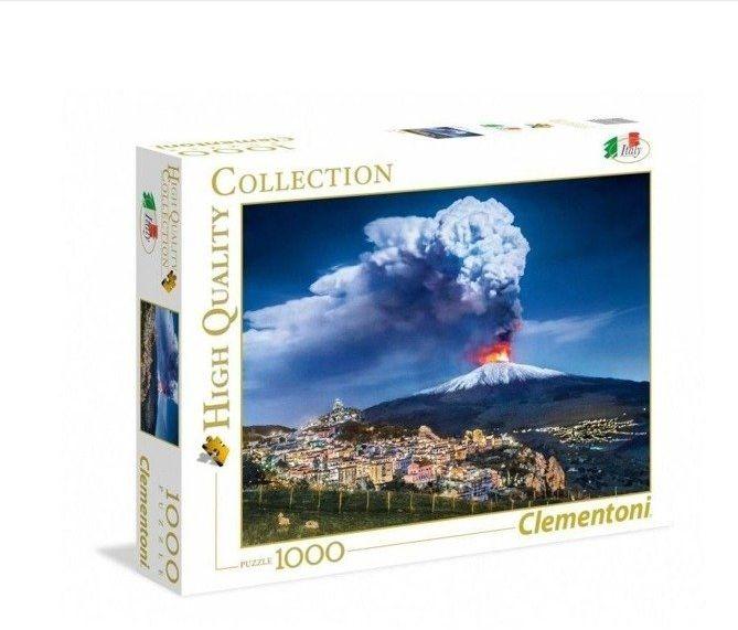 Puzzle 1000 Etna - Clementoni