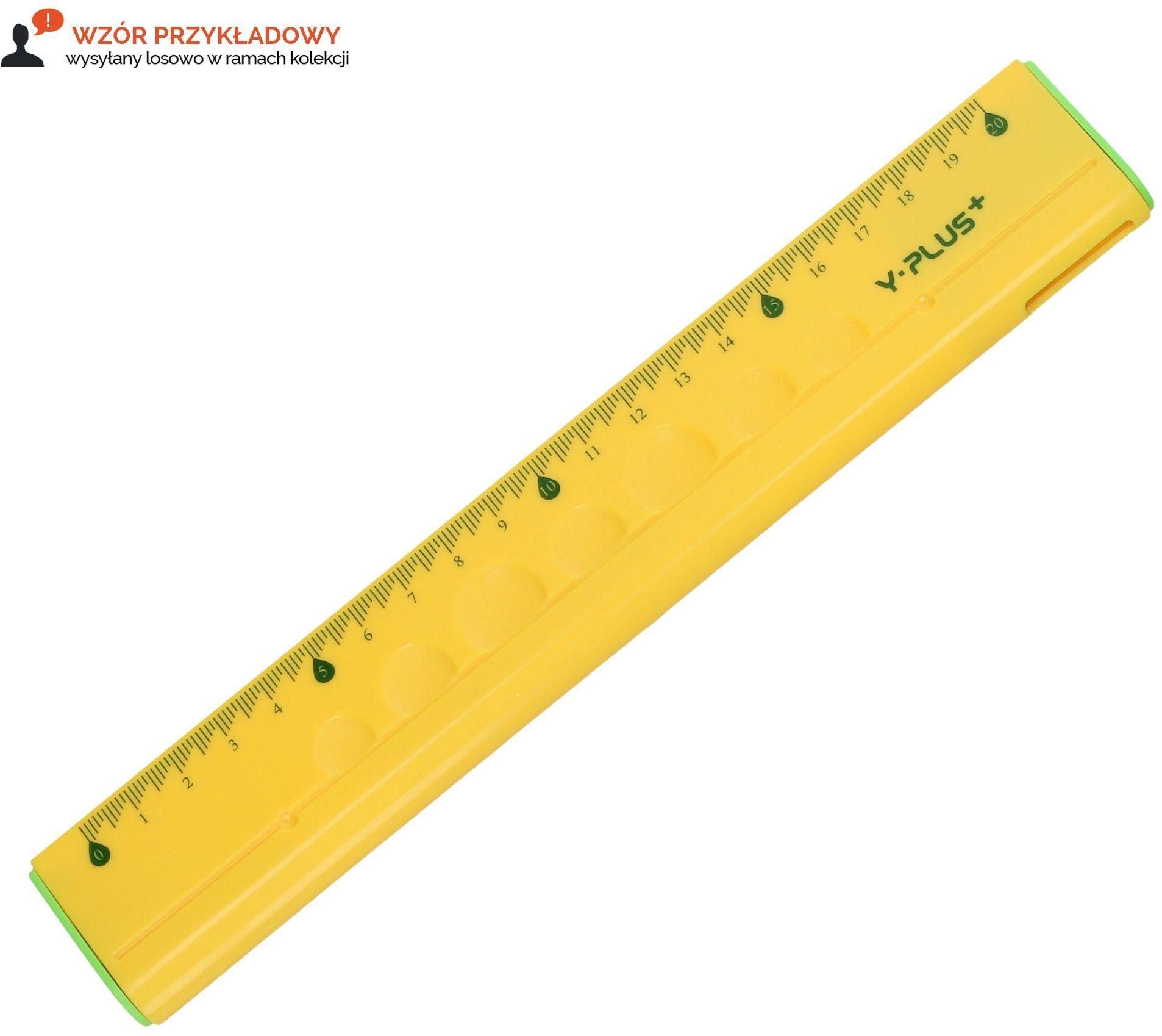Linijka 20cm wielofunkcyjna Y-PLUS