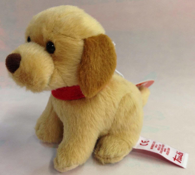Trudi 51187 - Zabawka dla psa beżowa pluszowa zabawka dla psów zabawka, beżowy, 90 mm)