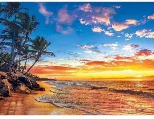 Puzzle 500 Paradise Beach - Clementoni