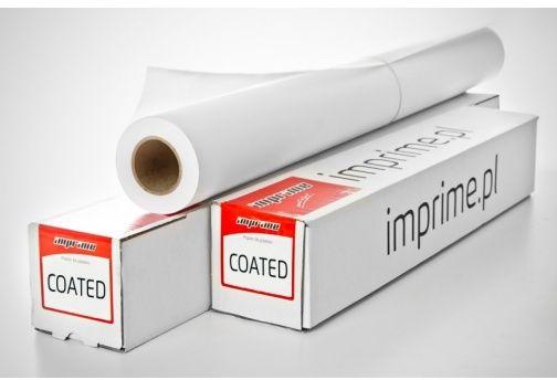 Papier w roli IMPRIME 1067mm x 30m 120g/m2 - powlekany, do plotera (1067X30 120G_PY)