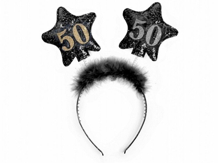 Opaska imprezowa na 50 urodziny gadżet op50