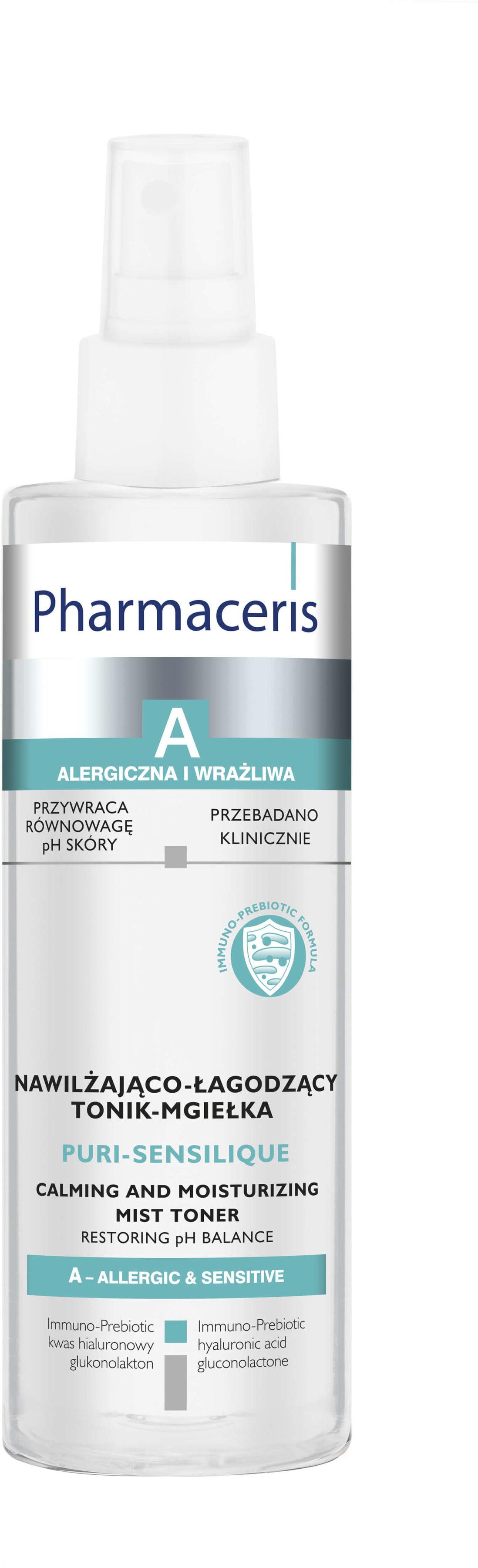 Pharmaceris A puri-sensilique nawilżająco-łagodzący tonik-mgiełka 200 ml