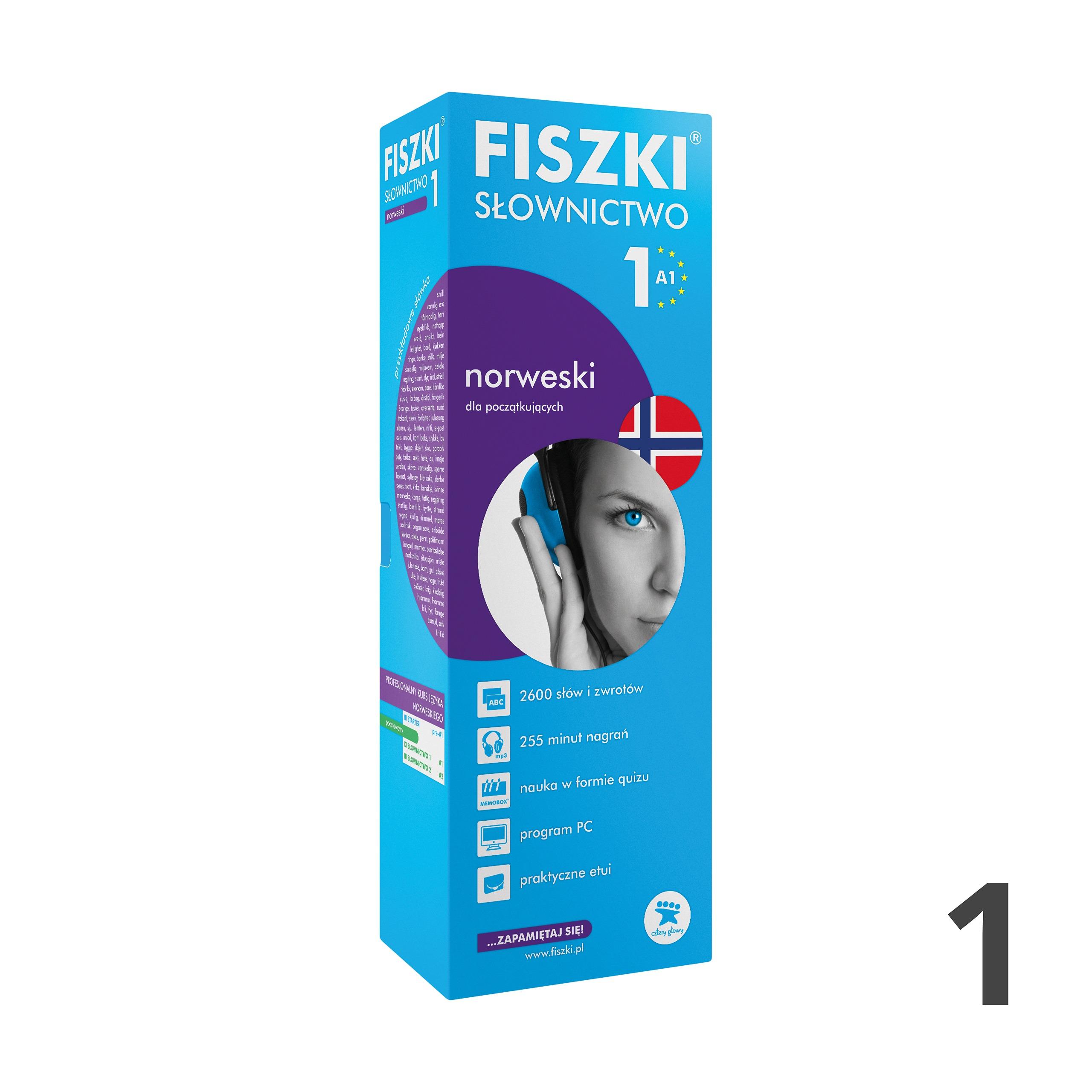 FISZKI - norweski - Słownictwo 1 (A1)