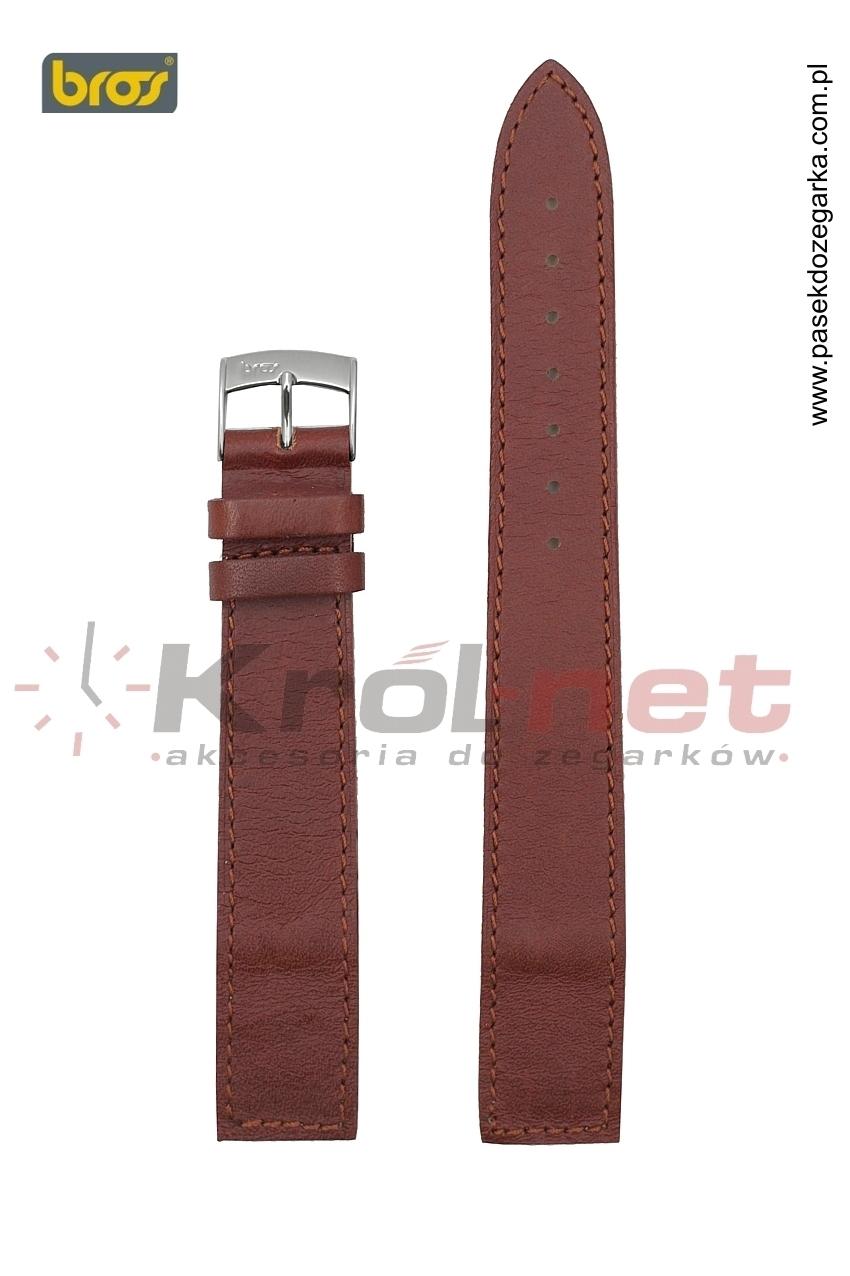 Pasek 7542/21/10 - jasny brąz, do zegarków bez teleskopów