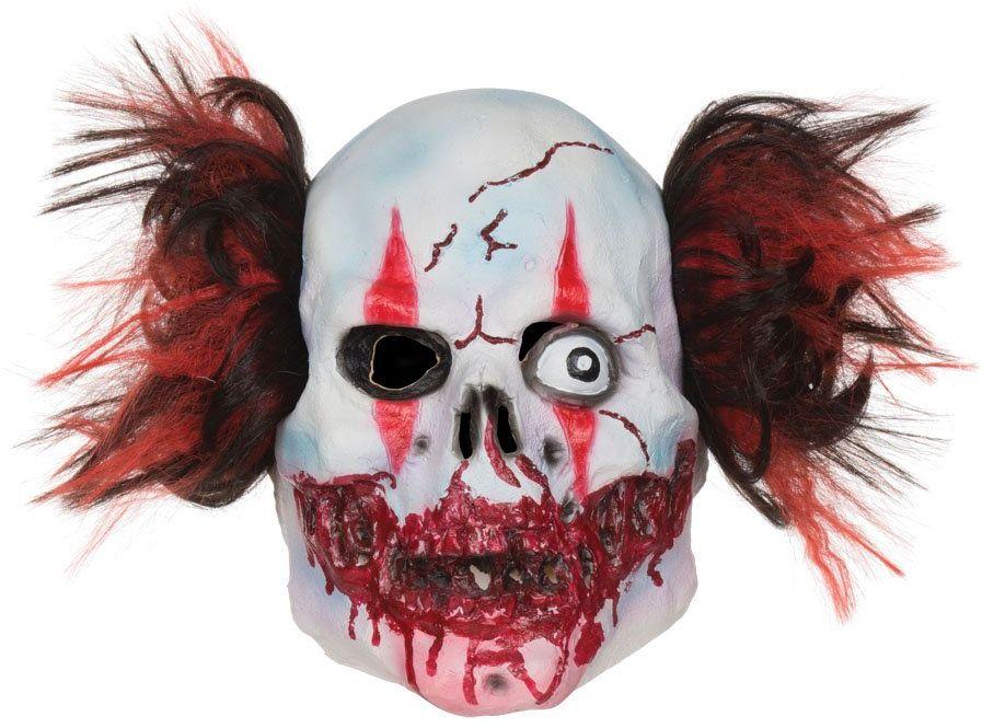 Maska Bristol Novelty BM483 Clown Maska, wielokolorowa, rozmiar uniwersalny