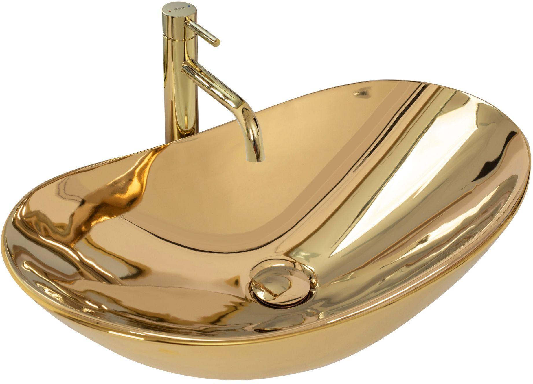 Rea Umywalka nablatowa Rea Royal Gold