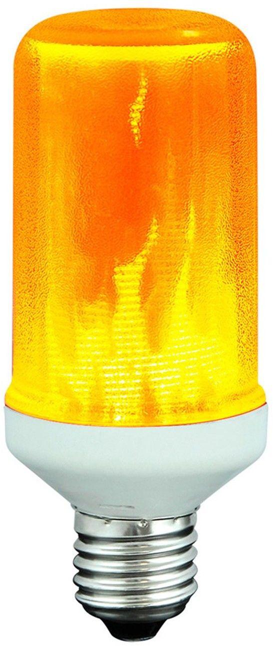 Żarówka dekoracyjna Polux LED FLAME T60 E27 3W 1400K POLUX/SANICO